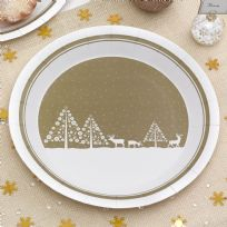 Winter Wonderland - Paper Plates (8)